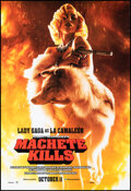 """Movie Posters:Action, Machete Kills (Open Road, 2013). Rolled, Very Fine+. One Sheet (27"""" X 40"""") DS Advance, """"Lady Gaga as La Camaleón"""" Style. Act..."""
