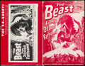 """Movie Posters:Science Fiction, The Beast from 20,000 Fathoms & Other Lot (Warner Bros., 1953). Overall: Fine+. Uncut Pressbook (24 Pages, 11"""" X 17"""") & Lobb... (Total: 2 Items)"""