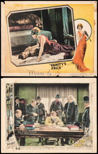 """The Frontier Trail & Other Lot (Pathe Exchange, 1926). Fine- on Cardstock. Lobby Cards (2) (11"""" X 14""""). We..."""