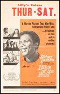 """Movie Posters:Drama, Lilies of the Field & Other Lot (United Artists, 1963). Folded, Fine+. Window Cards (3) (14"""" X 22""""). Drama.. ... (Total: 3 Items)"""