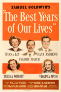 Movie Posters:Academy Award Winners, The Best Years of Our Lives (RKO, 1946). Very Fine- on Lin...