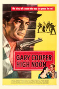 Movie Posters:Western, High Noon (United Artists, 1952). Very Fine+ on Linen....