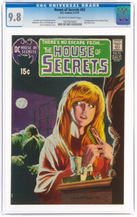 House of Secrets #92 (DC, 1971) CGC NM/MT 9.8 Off-white to white pages
