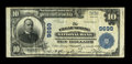 National Bank Notes:Maryland, Clear Spring, MD - $10 1902 Plain Back Fr. 627 The Clear Spring NBCh. # 9699. ...