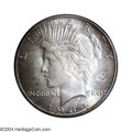 Peace Dollars: , 1934-S $1 MS66 PCGS. The scarcity of the 1934-S in Mint ...