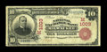 National Bank Notes:Wisconsin, Milwaukee, WI - $10 1902 Red Seal Fr. 613 The National ExchangeBank Ch. # (M)1003. ...