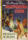 Books:First Editions, Franklin W. Dixon. The Hardy Boys #19: The Disappearing Floor....