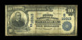 National Bank Notes:Pennsylvania, Petersburg, PA - $10 1902 Plain Back Fr. 629 The First NB Ch. #(E)10313. ...