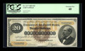 Large Size:Gold Certificates, Fr. 1177 $20 1882 Gold Certificate PCGS Extremely Fine 40....