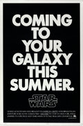 Movie Posters:Science Fiction, Star Wars (20th Century Fox, 1976). Rolled, Very Fine/Near...
