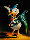 Memorabilia:Disney, Carl Barks Sixty Years Quacking Signed Limited Edition Miniature Lithograph Print #244/595 (Another Rainbow, 1994)....