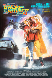"""Back to the Future Part II (Universal, 1989). Rolled, Very Fine+. One Sheet (26.75"""" X 39.75"""") SS, Drew Struzan..."""