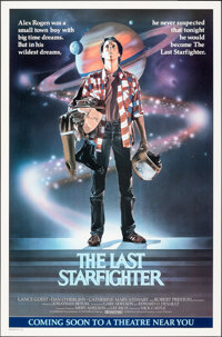 """The Last Starfighter (Universal, 1984). Rolled, Very Fine. One Sheet (27"""" X 41"""") Advance, Charles deMar Artwor..."""