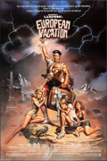 """Movie Posters:Comedy, National Lampoon's European Vacation (Warner Bros., 1985). Rolled, Very Fine+. One Sheet (27"""" X 40.5"""") SS, Boris Vallejo Art..."""