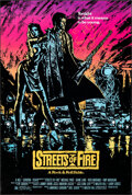 """Movie Posters:Action, Streets of Fire (Universal, 1984). Rolled, Very Fine-. Autographed One Sheet (27"""" X 40""""). Action.. ..."""