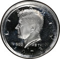 1973-S 50C Kennedy Half Dollar -- Double Struck, Broadstruck -- PR68 Cameo NGC. Sharp and deeply mirrored with an expand...