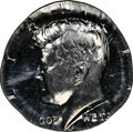 (Undated)-S 50C Kennedy Half Dollar -- Struck on 5C Planchet -- PR67 NGC. The mintmark is visible, but the date is off t...