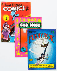 Underground Comix Group of 9 (Various Publishers, 1970s) Condition: Average VG/FN.... (Total: 9 Comic Books)