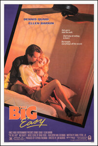 """The Big Easy (Columbia, 1987). Very Fine on Linen. One Sheet (27.25"""" X 40.75""""). Crime"""