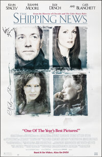 The Shipping News & Other Lot (Miramax Home Entertainment, 2001). Folded, Fine+. Autographed Video Posters (2) (26&q...