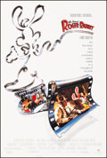 """Movie Posters:Animation, Who Framed Roger Rabbit (Buena Vista, 1988). Very Fine+ on Linen. One Sheet (27.5"""" X 40.75""""). Animation.. ..."""