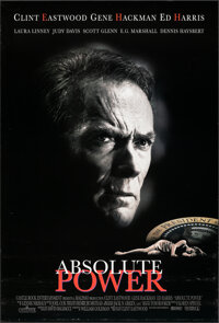"""Absolute Power & Other Lot (Columbia, 1997). Rolled, Very Fine+. One Sheets (2) (27"""" X 40"""") SS. Thriller..."""
