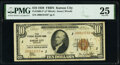 Fr. 1860-J* $10 1929 Federal Reserve Bank Star Note. PMG Very Fine 25