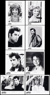 """Grease (Paramount, 1978/R-1998). Overall: Very Fine+. Photos (9) (8"""" X 10""""). Musical. ... (Total: 9 Items)"""