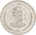 """Political:Tokens & Medals, Abraham Lincoln: 1864 """"Foe to Traitors"""" Medal. AL..."""