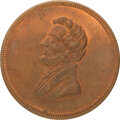 Abraham Lincoln: 1861 Inaugural medal in Copper