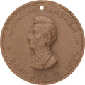 Political:Tokens & Medals, Abraham Lincoln: High Relief Composition Medal. A...