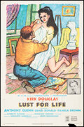 """Movie Posters:Drama, Lust for Life (MGM, 1956). Folded, Fine. One Sheet (27"""" X 41""""). Drama.. ..."""
