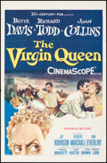 """Movie Posters:Drama, The Virgin Queen (20th Century Fox, 1955). Folded, Very Fine-. One Sheet (27"""" X 41.25""""). Drama.. ..."""