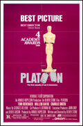 """Movie Posters:Academy Award Winners, Platoon (Orion, 1986). Folded, Very Fine. One Sheets (2) (27"""" X 41"""") SS, 2 Styles. Academy Award Winners.. ... (Total: 2 Items)"""