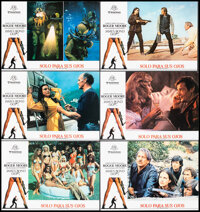 """For Your Eyes Only (CB Films, 1981). Very Fine. Spanish Lobby Cards (11) (9.5"""" X 13.25""""). James Bond. ... (Tot..."""
