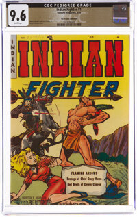Indian Fighter #1 The Promise Collection Pedigree (Youthful Magazines, 1950) CGC NM+ 9.6 White pages