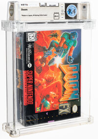 Doom - Wata 9.4 A++ Sealed [Made in Japan], SNES Williams 1995 USA