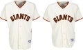 """Baseball Collectibles:Uniforms, 2000 Willie McCovey San Francisco Giants Jerseys with """"Ina..."""