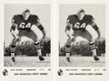 Football Collectibles:Others, 1960's Dave Wilcox Team Issued Postcards Lot of 87 with Tw...