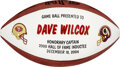 Football Collectibles:Balls, 2004 Dave Wilcox Presentation Football from The Dave Wilco...