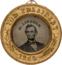 Abraham Lincoln: Back-to-Back Ferrotype