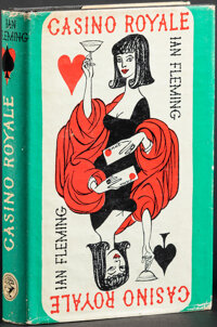 """Casino Royale by Ian Fleming (Jonathan Cape, 1965). Very Fine. British Hardcover Book (218 Pages, 5.5"""" X 8.75""""..."""