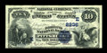 National Bank Notes:Pennsylvania, Pittsburgh, PA - $10 1882 Date Back Fr. 542 The Diamond NB Ch. #2236. ...