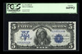 Large Size:Silver Certificates, Fr. 274 $5 1899 Silver Certificate PCGS Gem New 66PPQ....