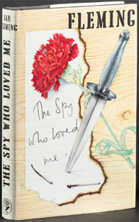"""The Spy Who Loved Me by Ian Fleming (Jonathan Cape, 1980). Very Fine+. British Hardcover Book (221 Pages, 5.25"""" X 7..."""