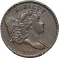Half Cents, 1794 1/2 C Normal Head, Small Edge Letters, C-2a, B-2b, High R.2, XF40 PCGS. CAC....