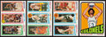 Basketball Cards:Lots, 1972-1980 Topps Basketball Stars & HoFers Lot of 4....