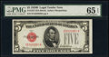 Small Size:Legal Tender Notes, Fr. 1527 $5 1928B Legal Tender Note. PMG Gem Uncirculated 65 EPQ.. ...
