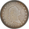 1794 50C O-101a, T-7, High R.3, -- Repaired -- NGC Details. VG. NGC Census: (8/57). PCGS Population: (3/27). VG8 . Fro...