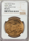 Expositions and Fairs, Four-Piece 1982 World's Fair Token Set NGC. ... (Total: 4 coins)